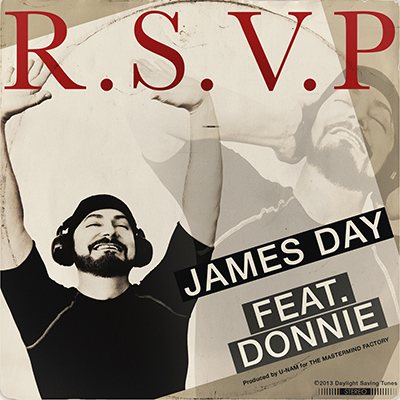JAMES DAY Featuring DONNIE ' R.S.V.P. '
