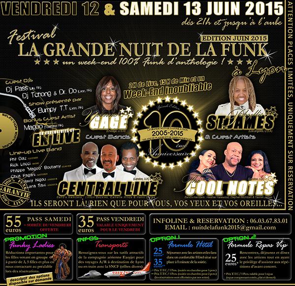 La Grande Nuit de la Funk juin 2015