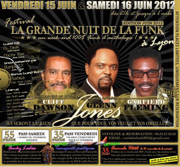 La Grande Nuit de la Funk juin 2012