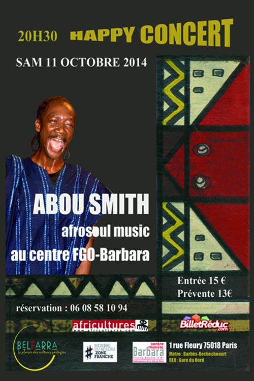 ABOU SMITH en concert à Paris