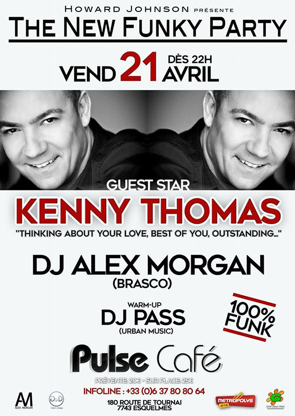 THE NEW FUNKY PARTY - KENNY THOMAS