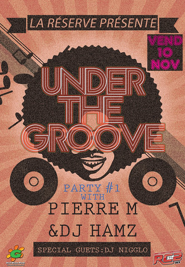 UNDER THE GROOVE #1 à LA RÉSERVE à Rouen - 10/11/2017