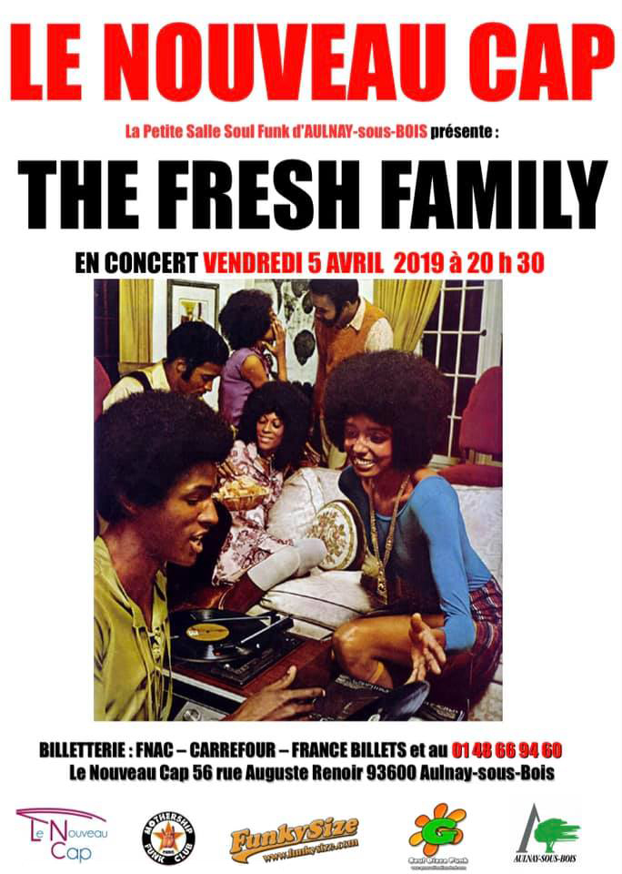 THE FRESH FAMILY au NOUVEAU CAP - 05/04/2019