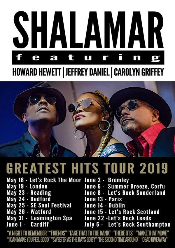 SHALAMAR au NOUVEAU CAP - 13/06/2019